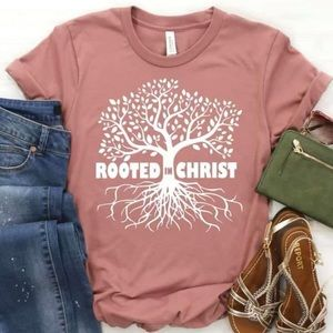 Rooted In Christ Adult Tee